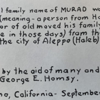 The Origin of the Family Surname